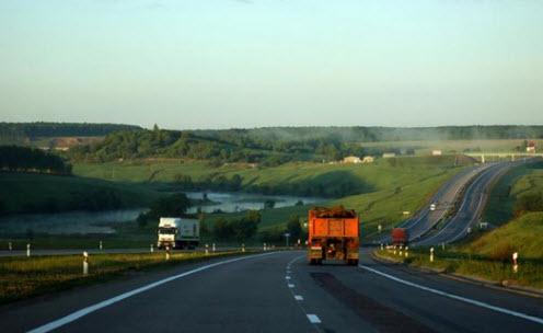 Трасса М4 дорога в Геленджик
