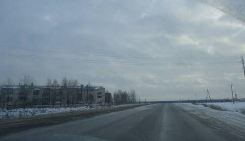 Дорога Р79 в Писцово