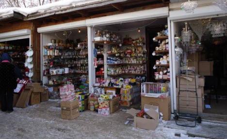 Стекляный рынок в Гусь-Хрустальном
