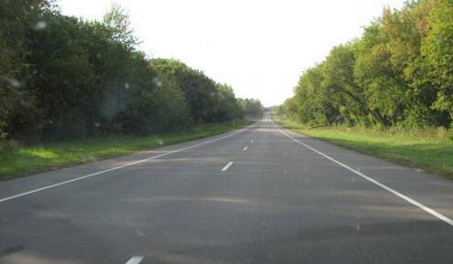Трасса А141 маршрут Орел Рудня