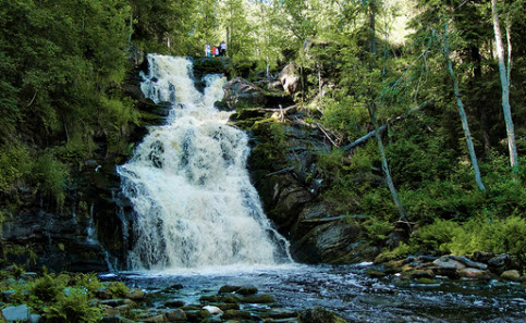 трасса а130 водопад юканкоски