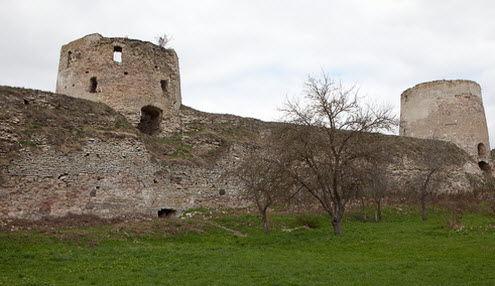 Трасса А212 Изборская крепость
