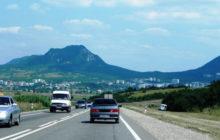 Трасса М29, карта трассы М29 Кавказ