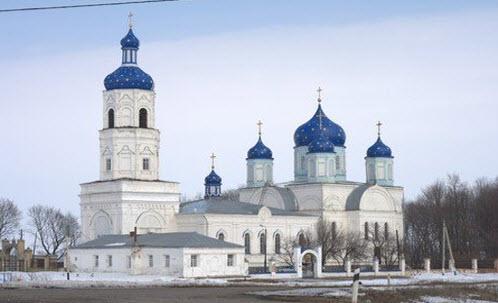 Трасса М6 церковь в Зимарово