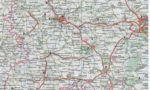 Карта Ефремов, Воронеж, Липецк, Лебедянь, Елец
