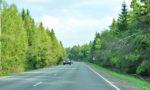 Трасса А107 после Апрелевки