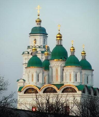 Трасса А340, Успенский Собор, Астрахань
