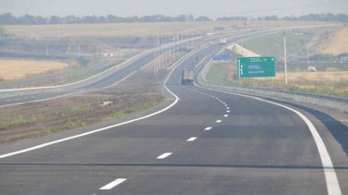 Трасса М2, карта трассы М2, Симферопольское шоссе