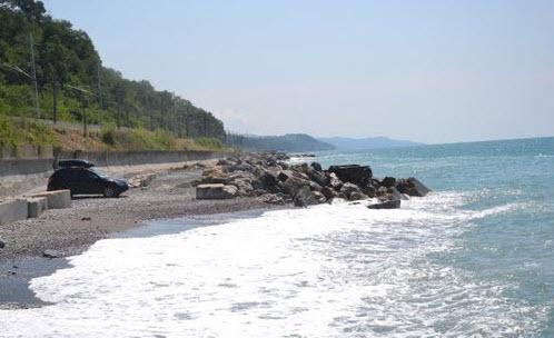 Трасса М27, Черное море