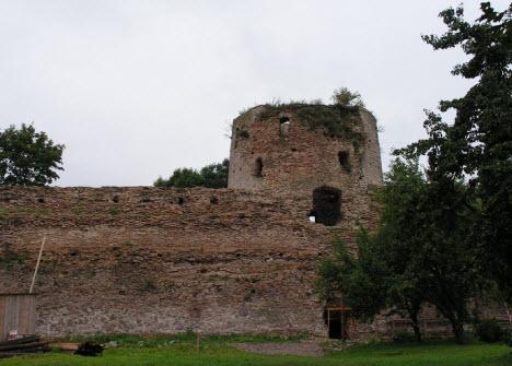 Башня Колокольная Изборск, трасса А212