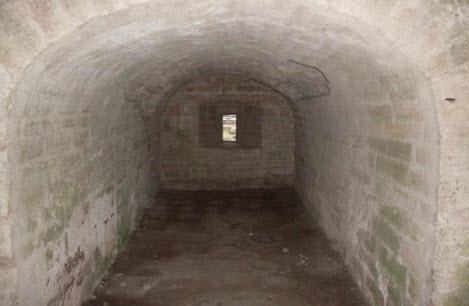 Бойница Воротной башни, Старая Ладога, трасса М18