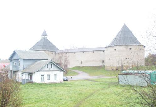 Достопримечательности трассы М18, Старая Ладога крепость