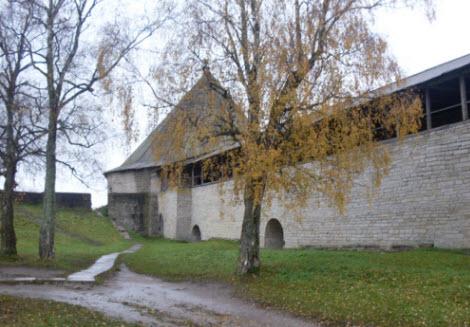 Климентовская башня, Старая Ладога, достопримечательности трассы М18