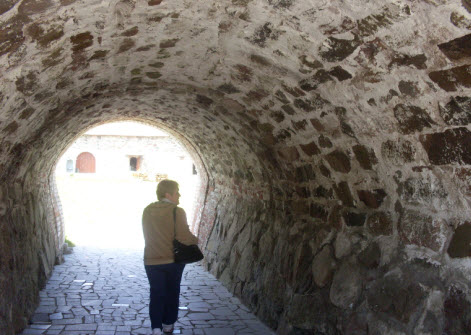 Крепость Корела, Приозерск, главный вход, трасса М10