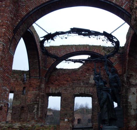 Мемориальный комплекс, посвященный обороне крепости в 1941-1943 гг, трасса М18