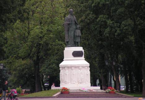 Памятник княгине Ольге, трасса М20