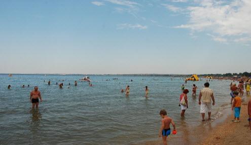 Пляж Анапа, Черное море, как доехать до Анапы