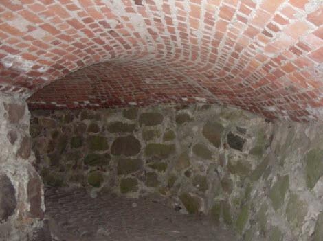 Тайный лаз в крепости Корела, Приозерск, трасса М10