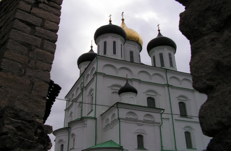 Троицкий собор, Псков, достопримечательности трассы М20