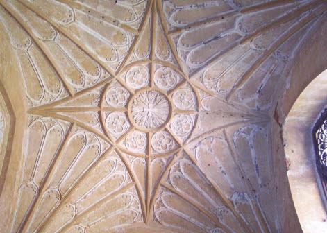 Внутри Шапели,потолок под куполом, достопримечательности трассы М10