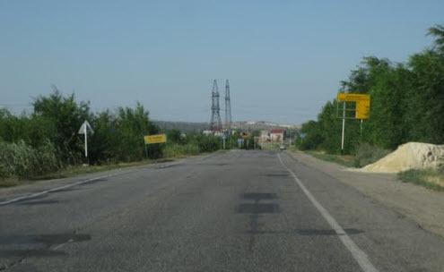Дорога А153, первые километры