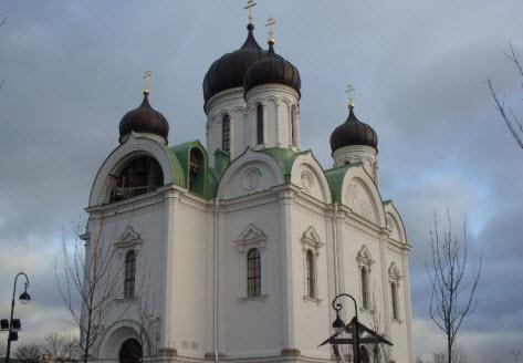 Екатерининский собор, Пушкин, достопримечательности трассы М10
