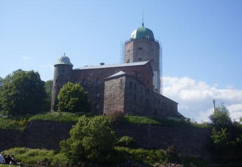 Замок в Выборге, достопримечательности трассы М10