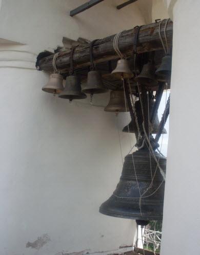 Колокола на Софийской звоннице, Новгород, трасса М10