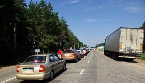 Очередь на МАПП Новые Ярыловичи, как доехать до Севастополя