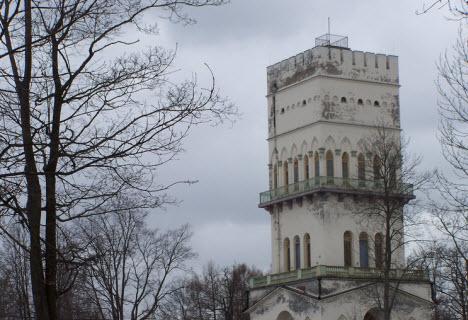 Павильон Белая Башня, трасса М10