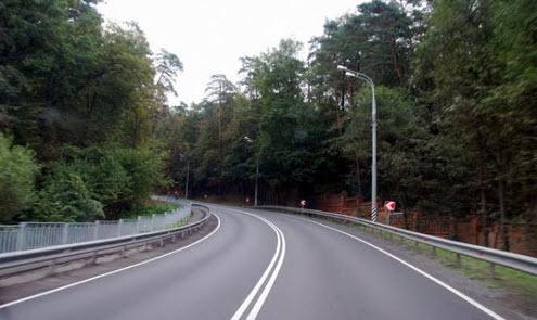 Рублевка, трасса А105, Рублево-Успенское шоссе
