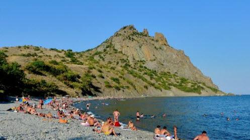 Севастополь, дикий пляж, как доехать до севастополя