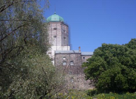Северный корпус и башня св. Олафа, Выборг, достопримечательности трассы М10