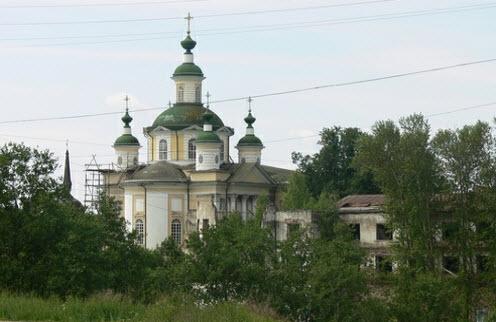 Спасо-Суморин монастырь, Тотьма, трасса Р-7