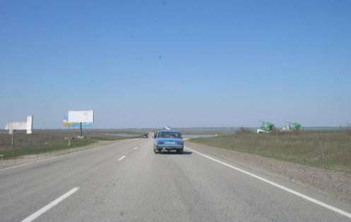 Трасса М18 Харьков Симферополь, как доехать до Евпатории