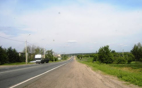 Трасса М2 Крым, возле Орла, как доехать до Евпатории