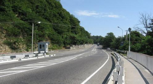 Трасса М27, как доехать до Сочи, дорога Джубга - Сочи
