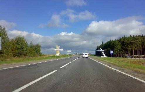 Трасса М8 в Белоруссии, как доехать до Севастополя