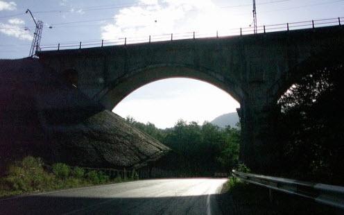 Трасса Р254, арочный мост