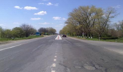 Трасса Р269, дорога Р269 в районе п Мечетинская