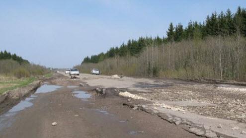 Трасса Р41, возле Сологубовки