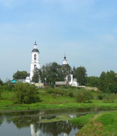 Церковь Николая чудотворца, Филипповская, трасса А108