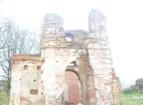 Церковь Преображения Копорской крепости
