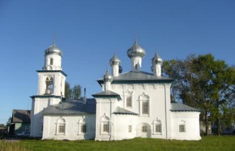 Церковь Рождества Богородицы, Трасса Р2, Каргополь