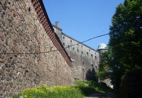 Южная стена и Райская башня, выборг, трасса М10