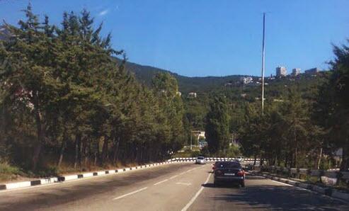 Южнобережное шоссе, как добраться в Ялту, Маршрут Москва - Ялта