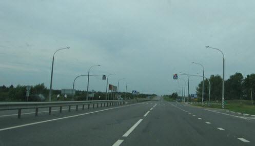 Автомагистраль М1 в Белоруссии