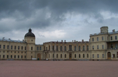 Гатчина, дворец, трасса М20