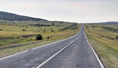 Дорога Р228 возле Балаково