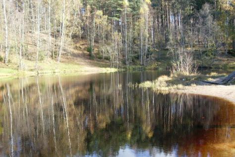 Изумрудное озеро, Токсово, достопримечательности трассы Р33